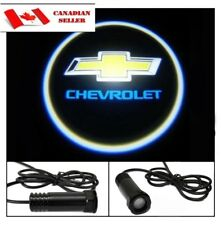 2X Car Door Welcome Laser Projector Logo Ghost Shadow Light For Chevrolet Chevy