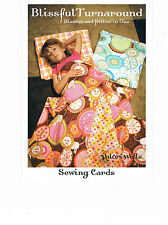 BLANKET & PILLOW IN ONE - Sleepovers- Valori Wells - SEWING CARD - Pattern