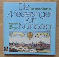 C304 KARAJAN RICHARD WAGNER DIE MEISTERSINGER 5 x LP EMI STEREO