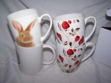Hase Kaffeetasse + 2 unbenutzte Rosen Kaffeetassen AMSEL