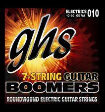 GHS Boomers 7 String Set Guitar Strings Medium 10-60 010 Electric