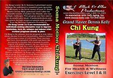 Gm Dennis Kelly Chi Kung 1 & 2 Exercises Dvd improve balance, stress, burn fat