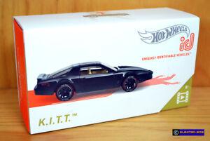 Hot Wheels id KITT Knight Rider [Trans Am] - New/Sealed/XHTF [E-808]