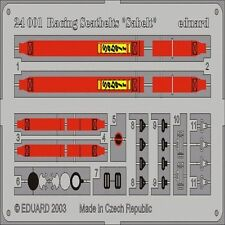 EDUARD MODELS 1/24 Racing Car Seatbelts- Sabelt 4-Points Red EDU24001