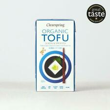 💚 Clearspring bio japonais Tofu Silken et lisse 300 g