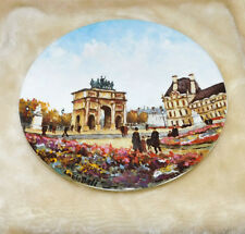 "1 Louis Dali Porcelain Limoges bradex collector Plate as shown in photo""s"