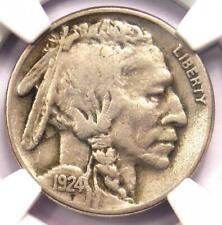 1924-S Buffalo Nickel 5C Coin - Certified NGC VF30 - Rare Date Buffalo!