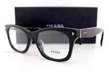 Brand New Prada Eyeglass Frames PR 11SV 1AB 1O1 Black for Women Size 53