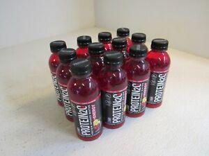 Protein 2.0 Protein Infused Water 16.9 fl oz 12 Bottles Cherry Lemonade