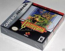 Castlevania Classic NES Series (Nintendo Game Boy Advance)..NEW! h-seam!