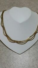 Scalloped gold necklace 18k Reduce Price  by $699 FOR SPECIAL PERSON