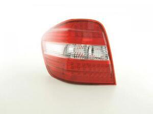 Coppia fanali fari POSTERIORI 4250414623388  Audi Q7 4L  06-, trasparente/rosso