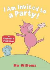 An Elephant & Piggie Book - I Am Invited To A Party By Mo Willems - New