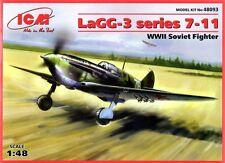 Lavochkin LAGG 3 serie 7-11 (af soviético Verano e Invierno Camo) 1/48 ICM