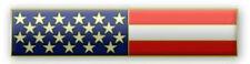 "New ""American Flag"" Citation Bar Lapel Pin"