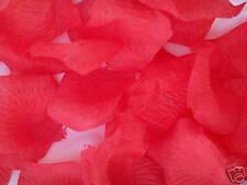 1000 petali di stoffa ROSSI bomboniere MATRIMONIO rosa