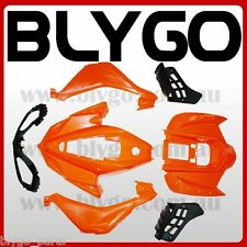 ORANGE Plastics Fairing Fenders Cover Guard Kit 250cc Sport Quad Dirt Bike ATV