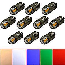 2X 10X 6V 12V E10 Schraubsockel LED Ersatz Beleuchtung Herrnhuter Stern weiß rot