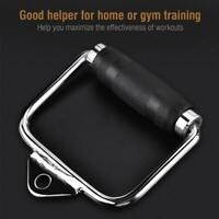 Home Gym Cable Exercise Equipment D Handle Extension Stirrup Handle Attachment