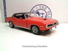 Franklin Mint 1970 Plymouth Hemi Cuda Convertible Rallye Red - Exc W/ Papers