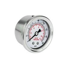 Fuel pressure gauge psi Manometro regolatore pressione benzina glicerina bar