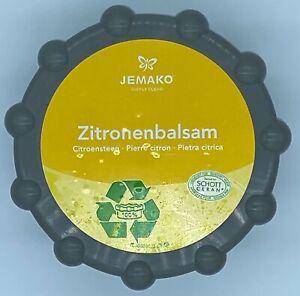 Jemako Zitronenbalsam 350 gr. Dose, neue nachhaltige, umweltschonende Verpackung