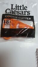 LITTLE CAESARS COOKIE CUTTER PIZZA NEW INDIVIDUALLY PACKAGED ONE (1) CUTTER