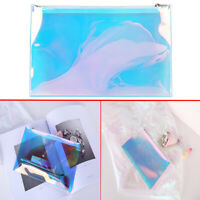 Travel Clear Mesh Cosmetic Makeup Pencil Bag Toiletry Wash Case Pouch Organizer