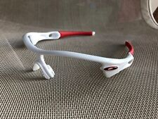 Oakley Radar Path 1.0 Polished White Red Sunglasses Frame Only