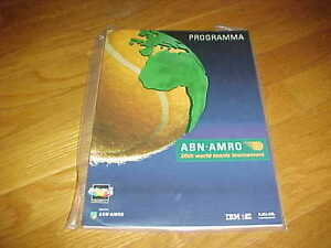 1992 ABN AMRO 20th World Tennis Tournament Tennis Program