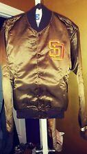 Vintage San Diego Padres Throwback Satin Starter Jacket Large New! MLB