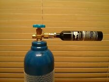 Paintball CO2 DIY Refill Adapter.CO2Tank to  Cylinder.Ship with Tracking Number.