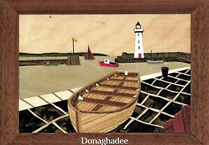 Donaghadee Marquetry Woodwork Craft Kit From UK For Adults & Beginners