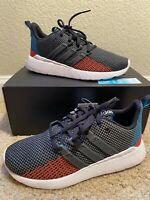 New adidas Questar Flow K Shoes Size: 5.5 - Boys Sneaker Blue Red G26770