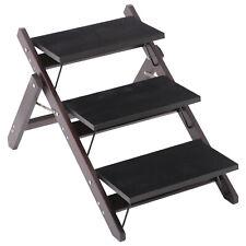 2-in-1 3 Step Pet Stair Ramp Dog Cat Climb Platform Portable Fold Flat