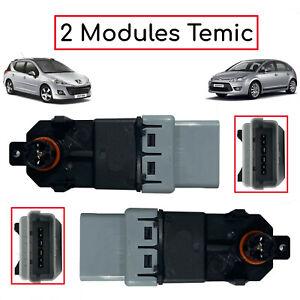 Lot de 2 Modules temic pour JUMPY SCUDO EXPERT C2 C3 C4 207 308 3008 5008