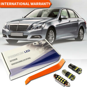 Mercedes E Class W212 LED Interior Premium Full Set 19 SMD White Error Free