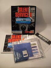 Juego De Pc-Servicio Silencioso 2 MicroProse IBM PC/XT IBM en, PS1, PS2 y Tandy 1000