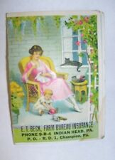 Farm Bureau Insurance Thrifty Mcbip Unused Matchbook X 2 W/ Cartoon Graphics Collectibles Other Merch & Memorabilia Ads