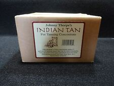 JOHNNY THORP INDIAN TAN HIDE TANNING FUR TANNING DEER TANNING
