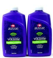 2x Aussie Aussome Volume Conditioner 24 Hour Lightweight Body 29.2 Oz 865 Ml