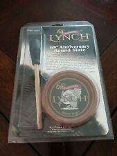 Lynch 65th Anniversary #2005 Round Slate  Turkey Call  New  With Package