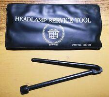 Cadillac Headlight Headlamp Service Tool w/ Pouch 1634123 OEM GM 1980's? Nice