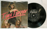 Tina Turner - Let's stay together - 1983 vinyl 45 RPM  record Capitol CL 316