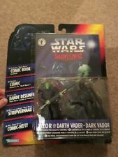 Potf2 Star Wars Kenner Shadows of The Empire Prince Xizor and Darth Vader MOC