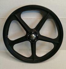 "Vintage 20"" Skyway Tuff Wheel II Gen 1 Rear Wheel BMX Black Kool Hub USA HTF"