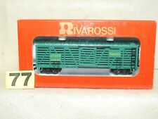 RIVAROSSI HO SCALE #2259 A.T.&S.F. STOCK CAR NEW READY TO RUN
