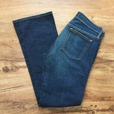 Old Navy Denim Low Waist Boot Cut Stretch Jeans Distressed Denim Women's 8 Reg