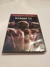 Rambo III (DVD, 2004, Ultimate Edition)Brand New