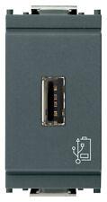 VIMAR IDEA 16292 Unità alimentazione USB 5V 1,5A nero carica cellulare